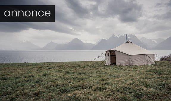Tag på luksus-camping